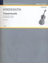 HAL LEONARD Hindemith, P. (Breuer, arr.): Trauermusik (cello and organ)
