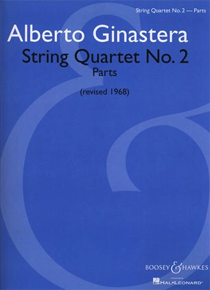 HAL LEONARD Ginastera, A: String Quartet No. 2 (set of parts)