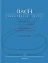 Barenreiter Bach, J.S. (Eppstein): Three (3) Sonatas for Cello (Gamba) & Harpsichord, BWV1027-1029 - URTEXT (cello & harpsichord) Barenreiter
