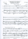 Carl Fischer Pann, C: Melodies for Robert (flute, violin, piano) Presser.