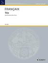 HAL LEONARD Francaix, J.: Trio (clarinet, viola, and piano)