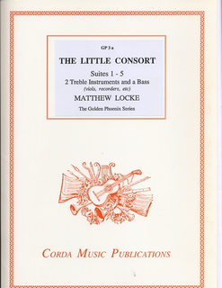 Corda Locke, Matthew (Gammie arr): The Little Consort Books 1-5 (2 violins, bass)