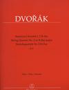 Barenreiter Dvorak, Antonin: String Quartet No. 2 in Bb major, B17