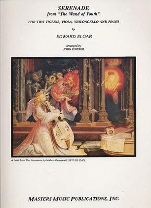 """LudwigMasters Elgar, Edward: Serenade """"Wand of Youth"""" Piano Quintet (2 violins, viola, cello, piano)"""