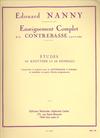 Nanny, Edouard: Kreutzer & Fiorillo Etudes transcribed for Bass
