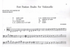 LudwigMasters Grant, Francis: First Position Etudes for Violoncello (cello) Ludwig Masters