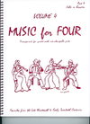 Last Resort Music Publishing Kelley, Daniel: Music for Four Vol.4 Favorites from the Late 19th & Early 20th Centuries (Cello)