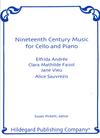 Carl Fischer Pickett, Susan: 19th Century Music for Cello (Cello & Piano)