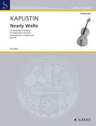 HAL LEONARD Kapustin. Nearly Waltz (cello, piano) Schott