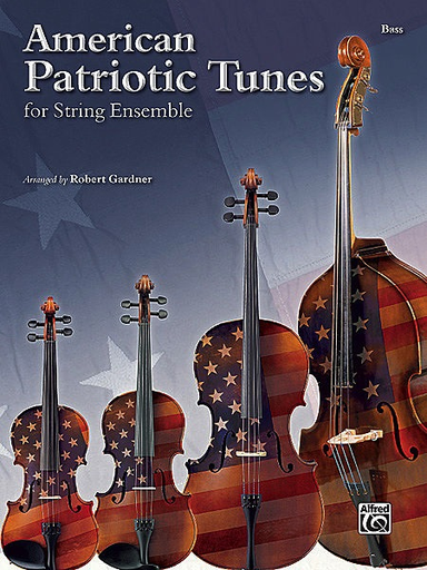 Alfred Music Gardner, Robert: American Patriotic Tunes for String Ensemble (3 basses)