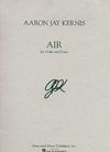 HAL LEONARD Kernis, Aaron Jay: Air (cello & piano)