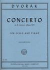 International Music Company Dvorak, Antonin (Rose): Concerto in B minor, Op.104 (Cello & Piano)