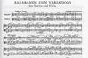 LudwigMasters Handel, G.F. (Halvorsen): Sarabande con Variazioni for Violin & Viola