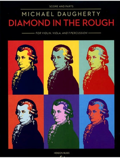 HAL LEONARD Daugherty, M.: Diamond in the Rough (violin, viola, percussion)