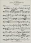 International Music Company Glazunov, Alexander (Morganstern): Chant du Menestrel-Minstrel's Song Op. 71 (cello & piano)