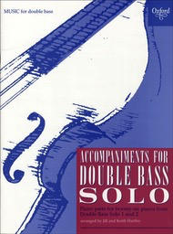 Oxford University Press Hartley, K.: Double Bass Solo (piano accompaniment to Books 1 and 2)