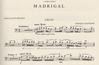 International Music Company Granados, Enrique (Rose): Madrigal in A minor (cello & piano)