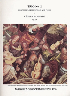 LudwigMasters Chaminade, Cecile: Trio No.2 Op.34 (violin, cello, piano)