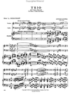 International Music Company Dvorak, Antonin: Piano Trio in f minor Op.65 (violin, Cello, Piano)