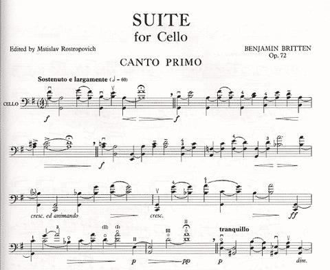Faber Music Britten, Benjamin: Three Suites for Cello Op.72,80,87 (solo cello) Faber Music