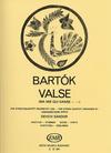 HAL LEONARD Bartok, Bela: Valse (Ma mie qui danse... from the 14 Bagatelles) Op.13 (string quartet)
