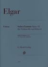 HAL LEONARD Elgar, E. (Kanngiesser/Marshall-Luck/Koenen, ed.): Salut d'amour, Op. 12, urtext (cello & piano)
