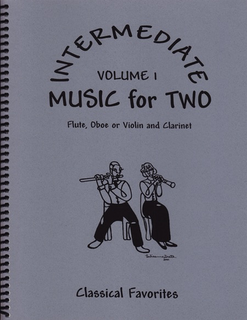Last Resort Music Publishing Kelley, D.: Intermediate Music for Two Vol.1 (violin, and clarinet)