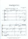 HAL LEONARD Bolcom, W.: String Quartet, No. 6 (score and parts)