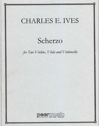 HAL LEONARD Ives, Charles: String Quartet Scherzo