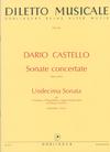 Carl Fischer Castello, Dario: Sonate Concertate-Undecima Sonata (2 violins, Cello, Piano)