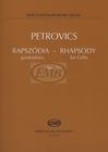 HAL LEONARD Petrovics, Emil: Rhapsody No. 2a (cello solo)