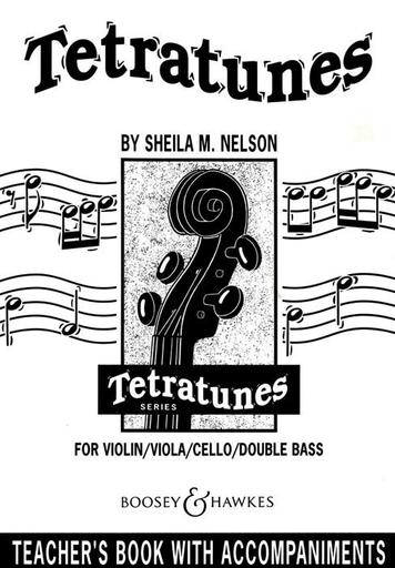 HAL LEONARD Nelson, S.: Tetratunes (piano accompaniment)