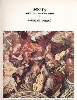 LudwigMasters Martinu, Bohuslav: Sonata for Flute, Violin &  Piano