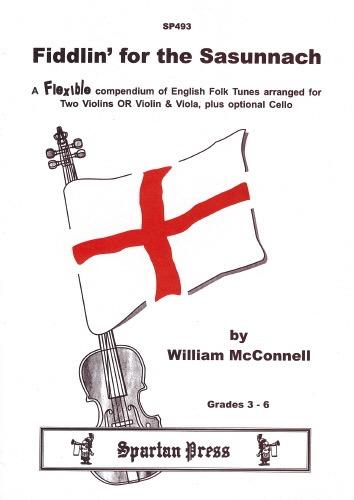 Carl Fischer McConnell, W.: Fiddlin' for the Sasunnach (string orchestra)