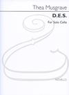 HAL LEONARD Musgrave: D.E.S. (cello) Novello