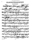 Brahms, Johannes: Clarinet Quintet Op. 115 in b minor (clarinet, 2 violins, viola, cello)