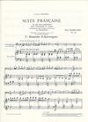 HAL LEONARD Bazelaire, Paul: Suite Francaise Op.114 (cello & piano)