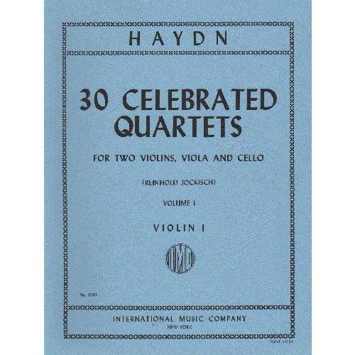 International Music Company Haydn, F.J. (Jockisch): 30 Celebrated Quartets: Vol.1 (string quartet)