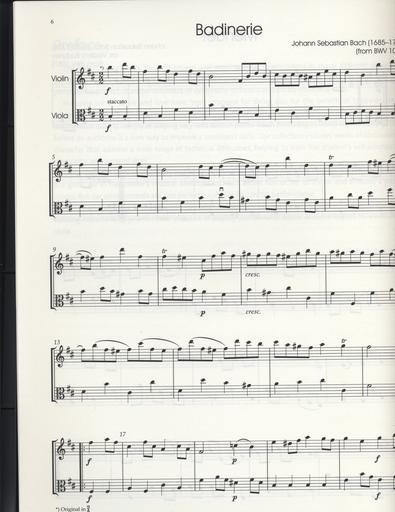 Barenreiter Bodunov, Vladimir: Classic Hits for Violin & Viola, Barenreiter