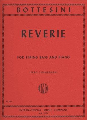 International Music Company Bottesini (Zimmerman): Reverie (bass & piano)
