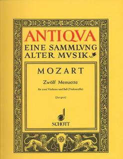 HAL LEONARD Mozart: 12 Minuets (2 violins & cello)