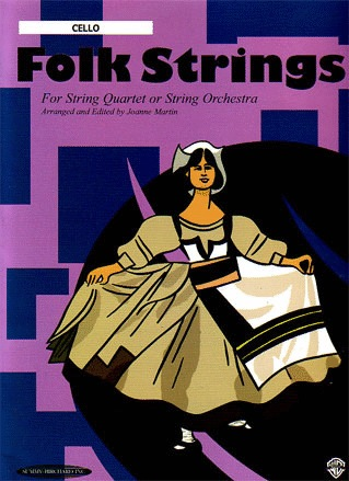 Martin, J.: Folk Strings for String Quartet (cello)