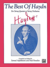 Alfred Music Haydn, J. (arr.): The Best of Haydn (viola)