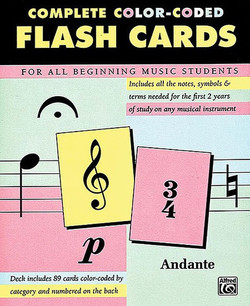 Alfred Music Flash Cards, Alfred