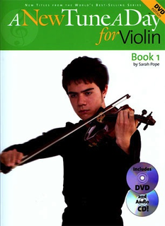 Boston Music Company Pope, Sarah: A New Tune A Day for Violin Bk.1 (violin, DVD, CD)