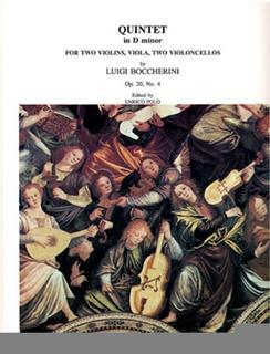 LudwigMasters Boccherini, Luigi: Quintet in D minor, Op. 20 No.4 (2 violins, viola, & 2 cellos)