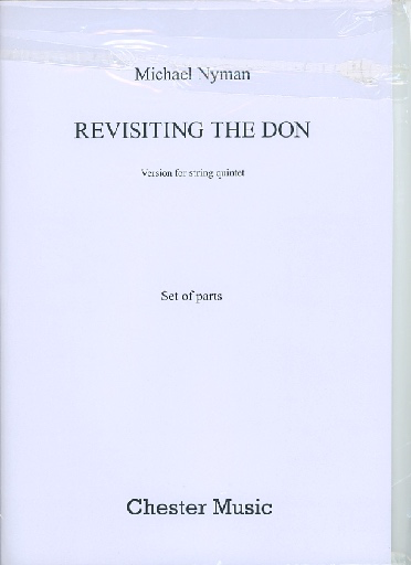 HAL LEONARD Nyman, Michael: Revisiting the Don - version for string quintet (parts)