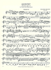 International Music Company Brahms, Johannes: Clarinet Quintet Op.115 (clarinet in A, two violins, viola, cello)
