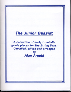 Arnold, Alan: The Junior Bassist (bass & piano)