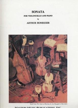 LudwigMasters Honegger, Arthur: Sonata for Cello & Piano